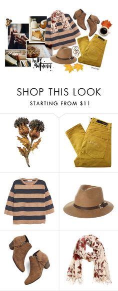 """""""~Dust in the wind, all we are is dust in the wind~"""" by maloops ❤ liked on Polyvore featuring Buccellati, Nobody Denim, MANGO, Rusty, Chelsea Crew, H&M, Rachel Leigh, CasualChic, fallstyle and autumnstyle"""