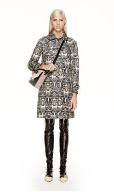 #MMissoni | FLEUR DE LIS DESIGN COAT | Fall 2014 Collection