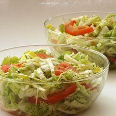 Diet Recipes, Healthy Recipes, Czech Recipes, Food Inspiration, Ham, Cabbage, Vegetarian, Salad, Vegetables