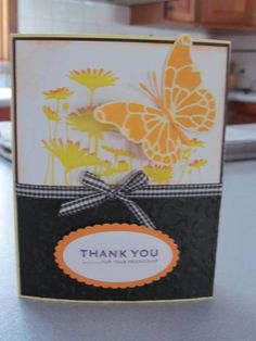 Upsy Daisy Thanks by beechwood - Cards and Paper Crafts at Splitcoaststampers
