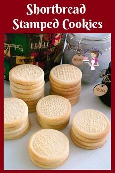 Make perfect shortbread stamped cookies every single time with this shortbread cookies that just melt in the mouth. Molded Cookie Recipe, Cut Out Cookie Recipe, Cut Out Cookies, Cookie Recipes, Dessert Recipes, Desserts, Fancy Cookies, Cookie Ideas, Dessert Ideas