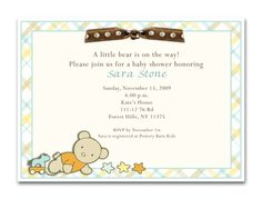 For the little bear on the way...