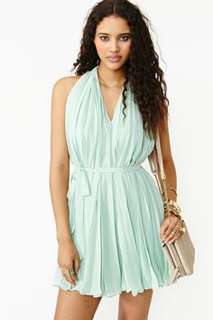 *Would need a reallly  big necklace or beaded belt. Sweetly Pleated Dress sale $34