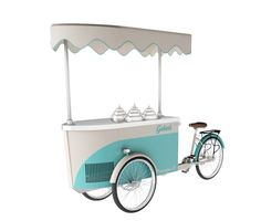 Procopio Carrettini Gelato TEKNE'ITALIA   street food   design