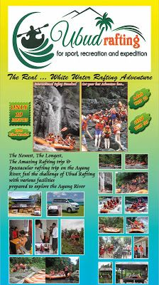 Ayung White Water Rafting 50 % Off