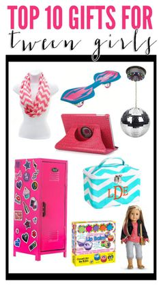 Not sure what to purchase that special tween girl in your life? We have put together some ideas that they are sure to love. Here are our TOP TEN gift ideas for tween girls this year. IPAD OR EREADER. Birthday List, Birthday Wishes, Girl Birthday, Birthday Ideas, Tween Girl Gifts, Gifts For Teens, Christmas Birthday, Christmas Wishes, Holiday Gifts