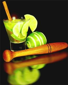caipirinha - I think it means little country girl. Basically lime, sugar, and alcohol similar to moonshine. Al made this last new years