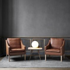 Fredericia furniture epitomises the balance of form and function we are familiar with in Danish Design. Shop the range of iconic Danish furniture with Olson and Baker. Tan Leather Armchair, Leather Lounge, Leather Furniture, Leather Armchairs, Danish Furniture, Home Decor Furniture, Furniture Design, Buy Sofa, Chairs For Sale