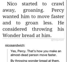 Yes Percy yes