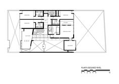 Patio House,Second Floor Plan