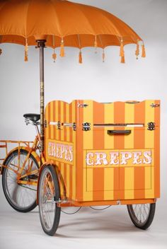 Crepes Tricycle - Crepes Stall