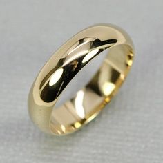 This is pretty much what my parents got for their wedding (in 18k gold) I love the simplicity of it