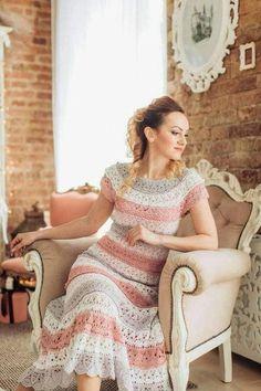 Fabulous Crochet a Little Black Crochet Dress Ideas. Georgeous Crochet a Little Black Crochet Dress Ideas. Crochet Short Dresses, Vestidos Bebe Crochet, Crochet Bodycon Dresses, Black Crochet Dress, Crochet Clothes, Crochet Lace, Knit Dress, Crochet Wedding, Crochet Shirt