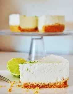 A l'heure du brunch: Cheesecake coco citron vert, version maillot