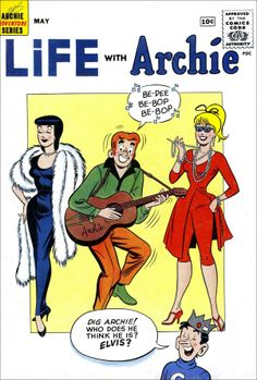 Life with Archie, May 1961 Comic Book.  This is the edition people were reading at the hospital the day I was born!