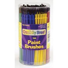 Plastic Handle Brushes, 144 count, CK-5187