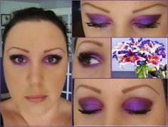 Today's Younique Look was sent in by Kristi O'Toole Today' colors were inspired by the bouquet of flowers I saw on an Easter advert. Heartbroken in the crease, Regal on the lid, Curious under the brow and Risque smudged in the outer corner. BB flawless all over sealed with my Touch Pressed Powder Compact and 3D mascara as always. www.butterflykissesmakeup.com