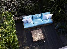 Fatso Module Sofa with Fatso Coffee Table.  www.robertplumb.com.au