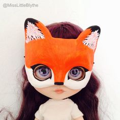 Un preferito personale dal mio negozio Etsy https://www.etsy.com/it/listing/286972665/blythe-doll-mask-animal-mascara-blythe