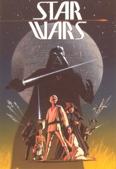 One of Ralph McQuarrie's early poster concepts for A New Hope.
