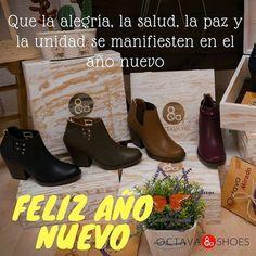 Que la alegría la paz y la unidad se manifiesten en este año nuevo #FelizAñoNuevo #OctavaShoes #NuevosRetos #Alegría #Paz #Amor http://ift.tt/2CA1xpf