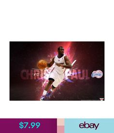 Art Posters 036 Nba Super Stars - Chris Paul Clipper Galaxy 22