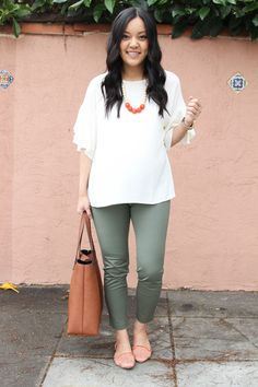 c0db7d2d6f8 4 Easy Tips to Style Tops for Business Casual Work to Play. Business Casual  OutfitsCasual Teacher OutfitMaternity ...
