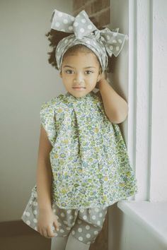 Florals + dots, so perfectly mismatched. #estella #kids #fashion @livingmysomeday future baby Joy