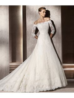"""""""Apparel & Accessories > Clothing >Bridal Clothing > Bridal Dresses""""    This Style is a Tulle bridal gown Rebrode lace applications throughout the gown.and silver/white embroidered applications on the empire waist band. Other features include a lace V-neckline over a sweetheart style Tulle bodice, and a full pleated skirt with a semi-cathedral train.    Dress Size Chart :-    Discover our Special Occasion Dress, Bridesmaid Dresses and Mother of Bride Dresses… $270.00"""