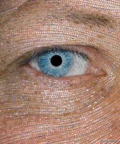 Eye Mosaic - Larry Hamill