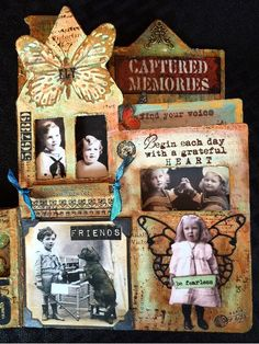 CREATIVITY IS CONTAGIOUS: Vintage Mixed Media Altered Book