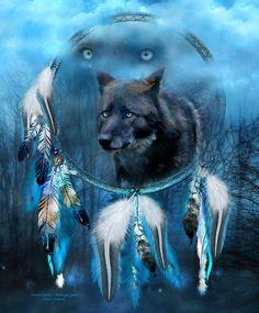 """Dream Catcher - Midnight Spirit"" by Carol Cavalaris | Redbubble"