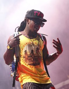 Cheating Death- Celebrity Close Calls ....Lil' Wayne shot himself in the hand almost bleeding to death.