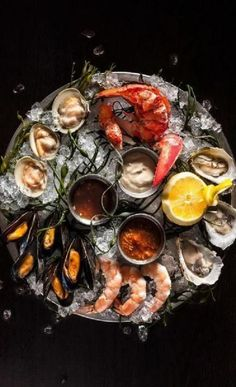 Trendy Seafood Platter Photography 29+ Ideas #photography #seafood Seafood Party, Seafood Dinner, Fresh Seafood, Fish And Seafood, Seafood Platter, Fish Platter, Food Platters, Food Presentation, Food Design