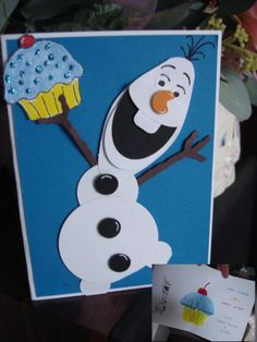 Olaf- Pop Up Card