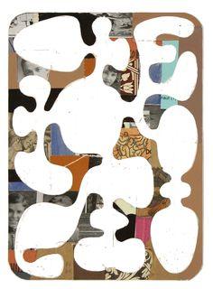 #Noah Woods #mixed media #abstract