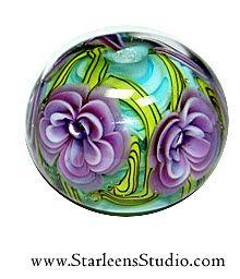 Nobody makes more beautifully precise beads than Starleen! Starleen from Starleen Studios