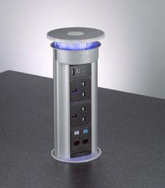 Flush Fitting Concealed Pop Up Sockets | Buy Online | BOX15