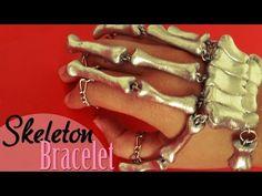 DIY: Como hacer el Brazalete esqueleto   Bracelet Design