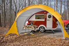 T@B trailer with tent extension