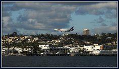 Landing in San Diego ~