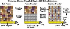 Common charge-coupled device architecture