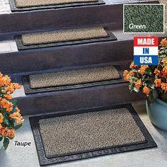 Outdoor Doormat U0026 Scraper Stair Treads   Taupe. Made From AstroTurf U0026 100%  Recycled