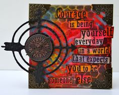 Mixed Media Canvas Workshop - Marjie Kemper - August 2015 – Pages in Time - Lincoln, Nebraska Mixed Media Collage, Mixed Media Canvas, Collage Art, Collages, Art Journal Pages, Art Journaling, Journal Sample, Journal Covers, Create Canvas