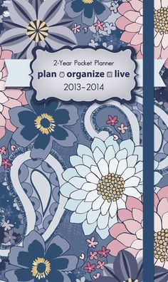 Buy Plan Organize Live 2013 2014 Pocket Planner online at Megacalendars Our planning products help families make day to day life run smoothly and pleasantly This calendar features a 3 year reference calendar notes pages contacts pages