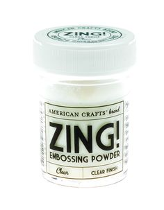 Zing! Clear Embossing Powder 1-Ounce