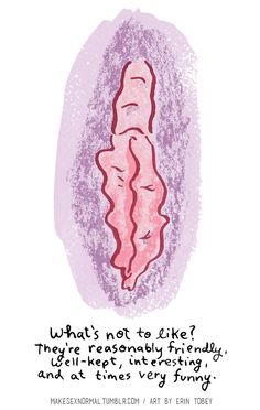 <b>Warning: This post includes NSFW (but very cool!) illustrations of vaginas.</b>