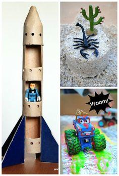 Let the Adventures Begin…..6 Crafty Ideas for Boys.