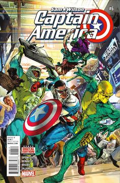 Preview: Captain America: Sam Wilson #6, Story: Nick Spencer Art: Joe Bennett Cover: Oscar Jimenez Publisher: Marvel Publication Date: February 3rd, 2016 Price: $3.99    Showdo...,  #All-Comic #All-ComicPreviews #CAPTAINAMERICA:SAMWILSON #Comics #JoeBennett #Marvel #NickSpencer #OscarJimenez #previews