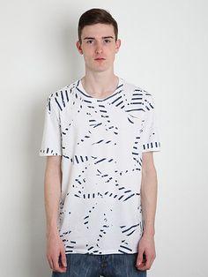 Maison Martin Margiela 10 Men's Fold Up Print T-Shirt